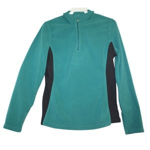 Champion Womens Small Teal Green Athletic Jacket